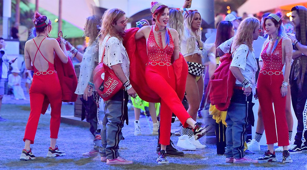 Bella Thorne - 2018 Coachella Valley Music & Arts Festival