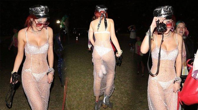 Bella Thorne Coachella Underwear