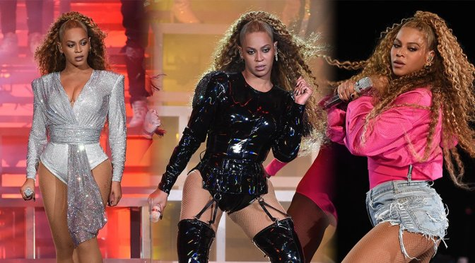Beyonce Performs Live at Coachella in Indio