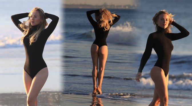 Ellen Alexander – Swimsuit Photoshoot in Malibu