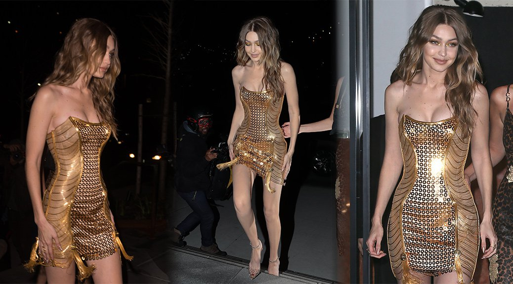 Gigi Hadid - 23rd Birthday Party in New York