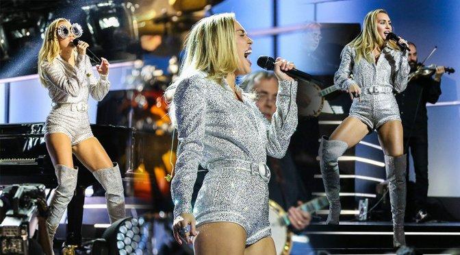 "Miley Cyrus – ""Elton John I'm Still Standing – A Grammy Salute"" Concert in New York"