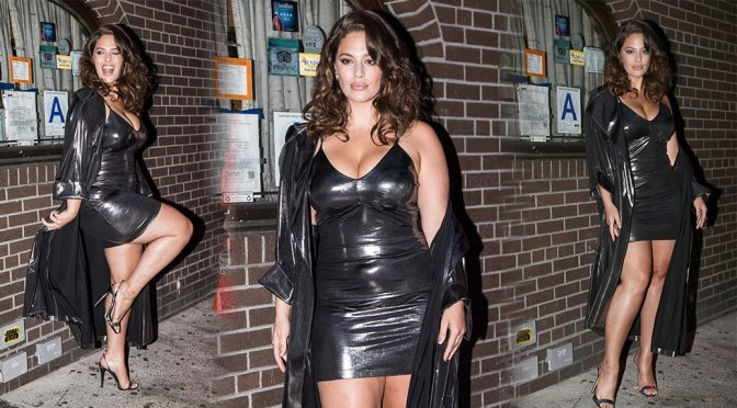 Ashley Graham – Pre-Met Gala Party in New York