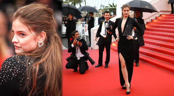 """Barbara Palvin – """"Burning"""" Premiere in Cannes"""