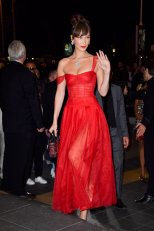 Bella Hadid Red Hot