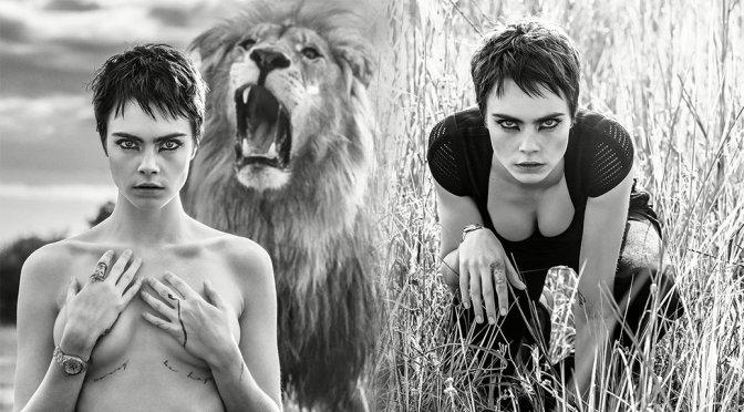 Cara Delevingne – TAG Heuer Photoshoot
