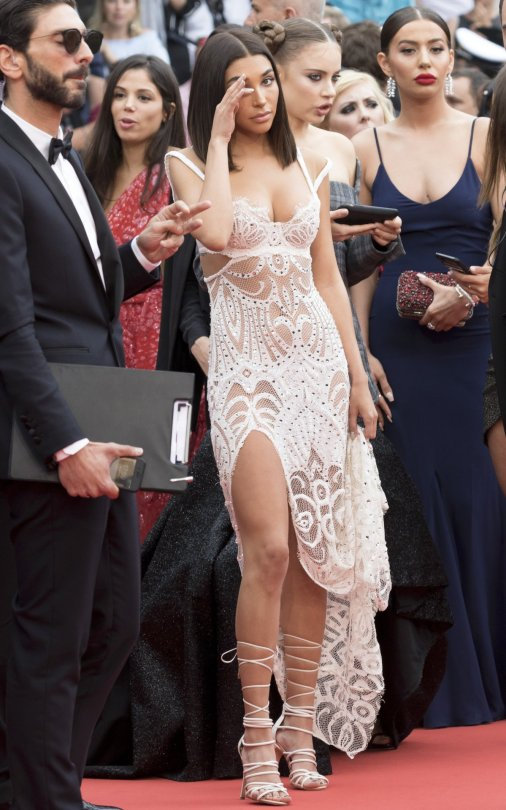 Chantell Jeffries Sexy Dress