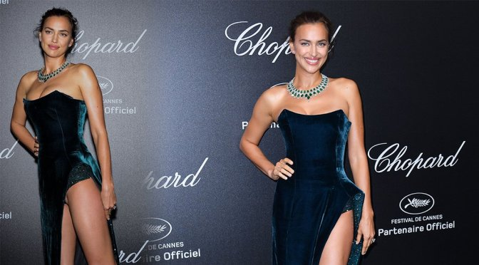 Irina Shayk – Secret Chopard Party in Cannes