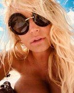 Jessica Simpson Boobs Selfie
