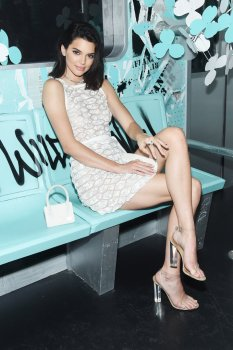 Kendall Jenner - Tiffany & Co. Paper Flowers Event And Believe In Dreams Launch in NYC