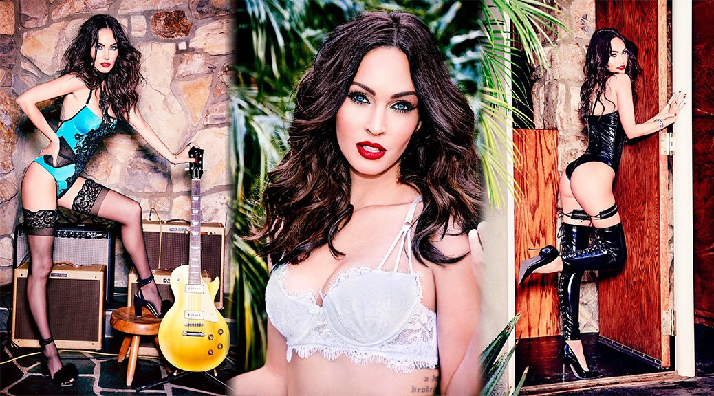 "Megan Fox - ""Frederick's of Hollywood"" Lingerie Photoshoot"