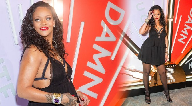 Rihanna – Savage X Fenty Lingerie Launch Party