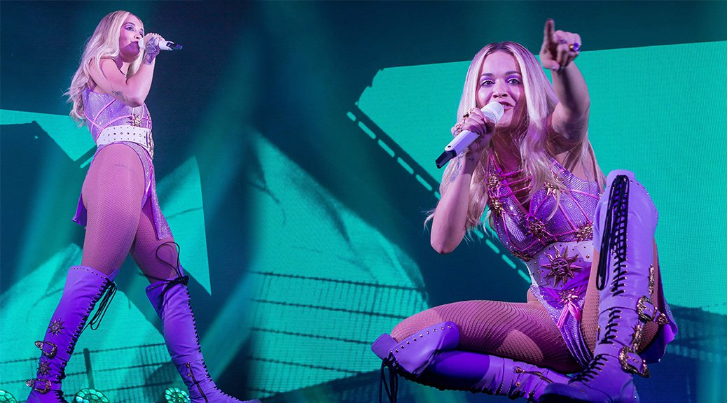 Rita Ora Performs Live at Grosse Freiheit 36 in Hamburg