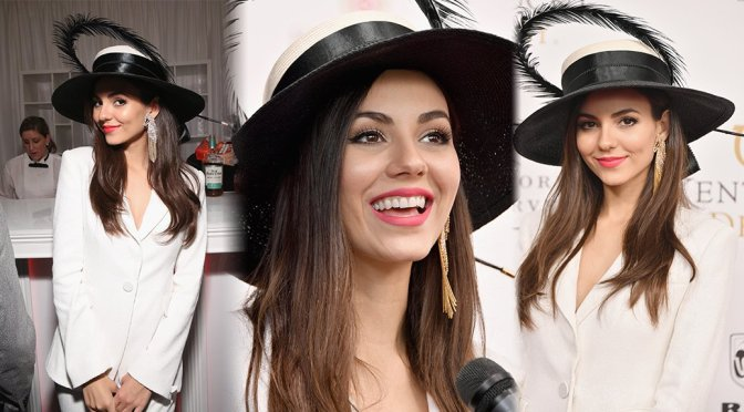 Victoria Justice – 144th Kentucky Derby in Louisville