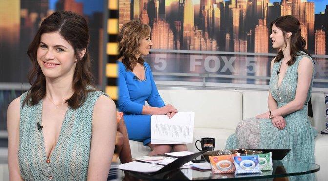 "Alexandra Daddario on ""Good Day New York"" TV Show"