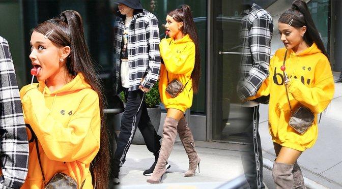 Ariana Grande – Candids in New York
