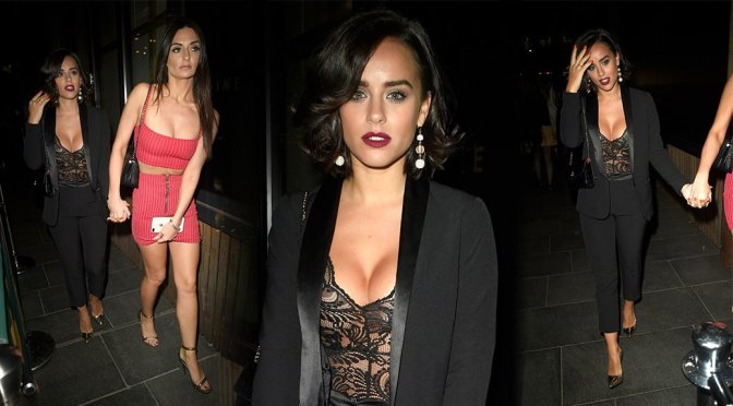Georgia May Foote – Candids in Manchester