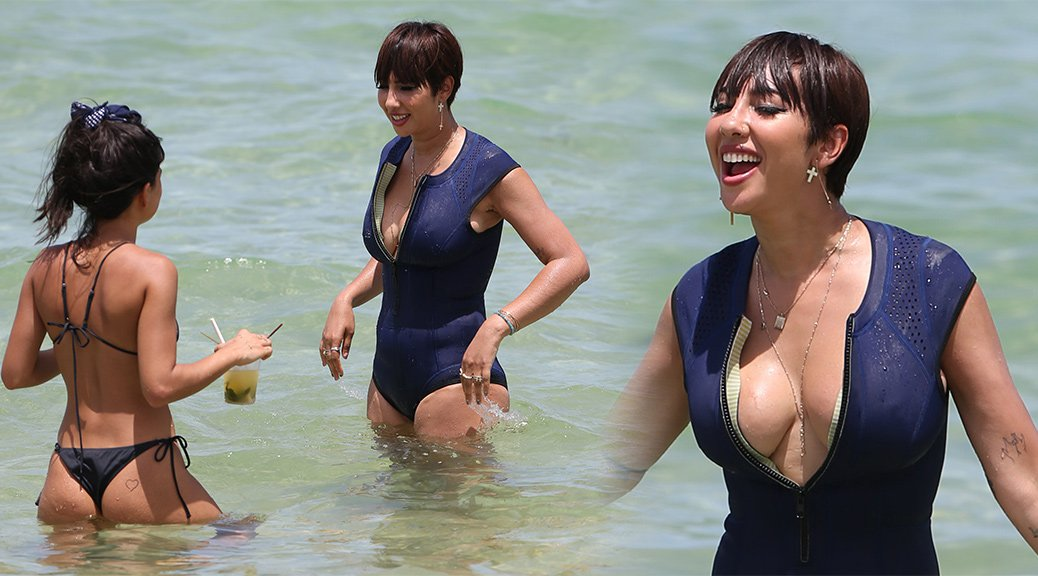Jackie Cruz - Swimsuit Candids in Miami