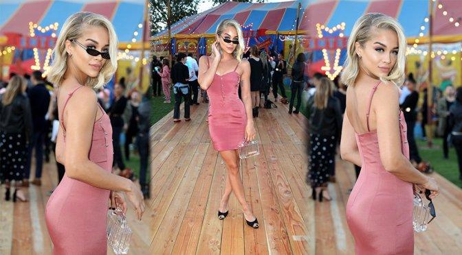 Jasmine Sanders – Moschino S/S 19 Menswear & Women's Resort Collection in Burbank