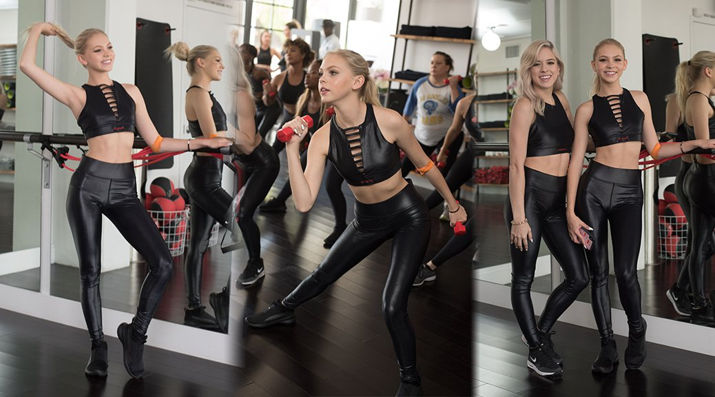 Jordyn Jones - Revlon Fitness Event in Los Angeles