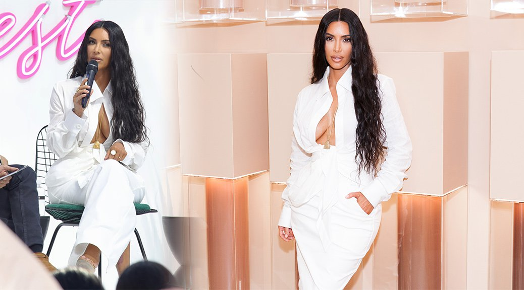 Kim Kardashian - KKW Beauty Pop-Up Shop Launch in Los Angeles