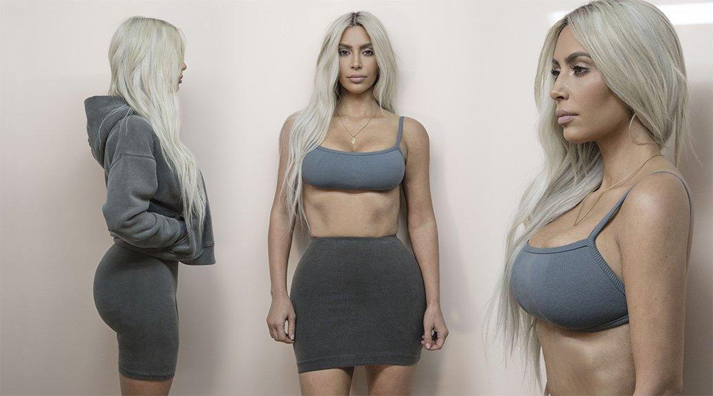 "Kim Kardashian - ""Yeezy"" Photoshoot"