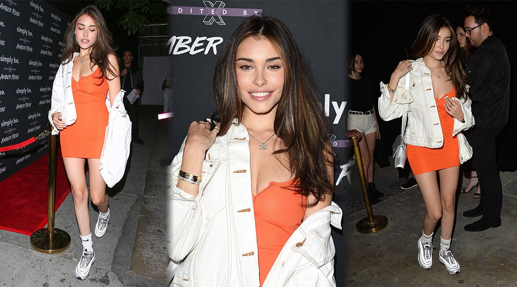 Madison Beer - Amber Rose x Simply Be Launch Party in Los Angeles