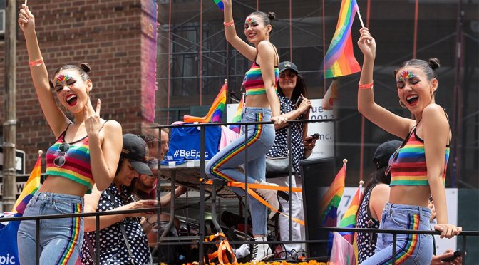 Victoria Justice – LGBT NYC Pride March in New York