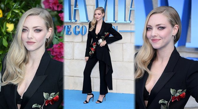"Amanda Seyfried – ""Mamma Mia! Here We Go Again"" Premiere in London"