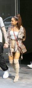 Ariana Grande Braless Pokies