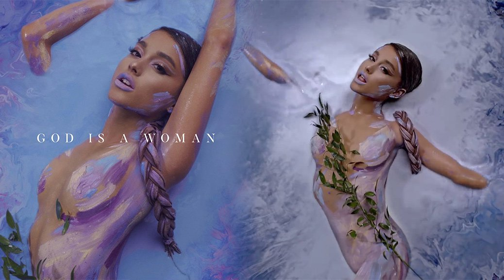 "Ariana Grande - ""God is a Woman"" Music Video Cover & Caps"