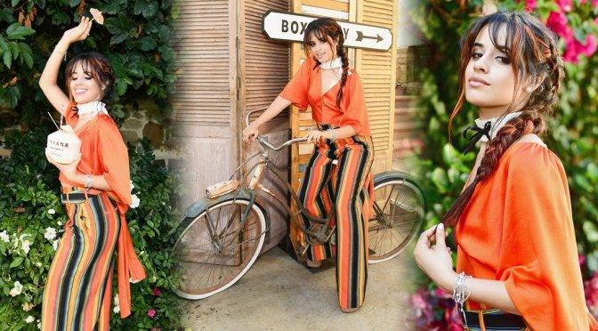 Camila Cabello – HAVANA Makeup Collection Laucnh in Pacific Palisades