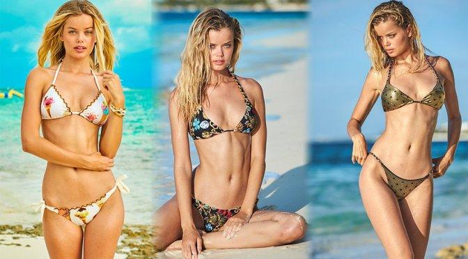 """Frida Aasen – """"Sauvage"""" Swimwear Photoshoot"""