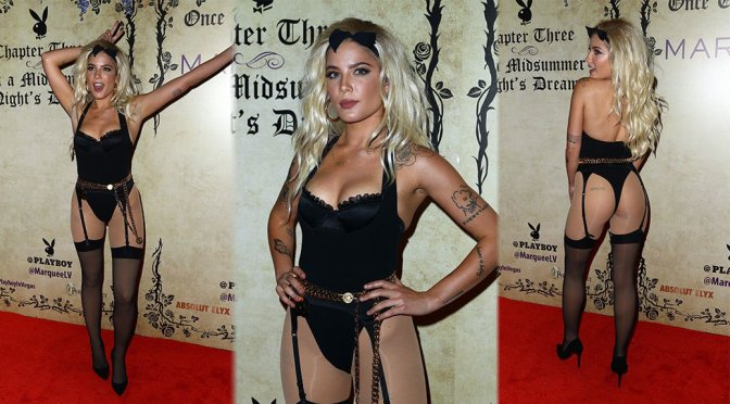 Halsey – Playboy's Midsummer Night's Dream At Marquee Nightclub in Las Vegas