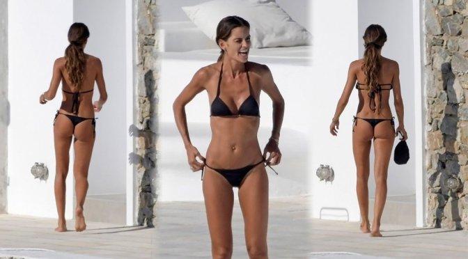 Izabel Goulart – Thong Bikini Candids in Mykonos