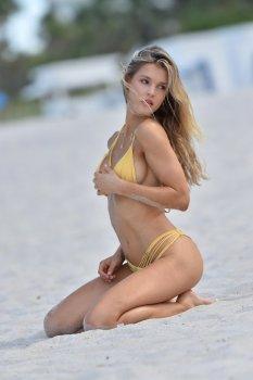 Joy Corrigan Skimpy Bikini