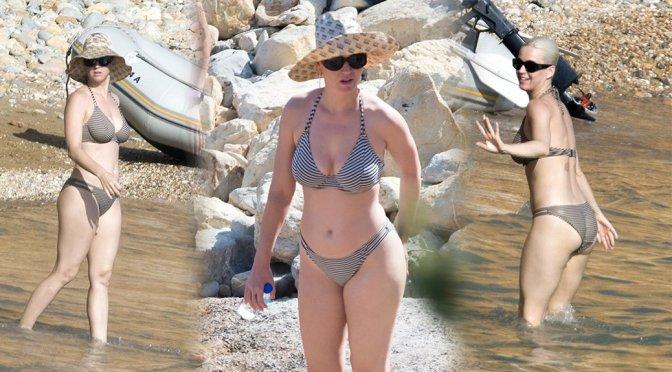 Katy Perry – Bikini Candids in Ibiza