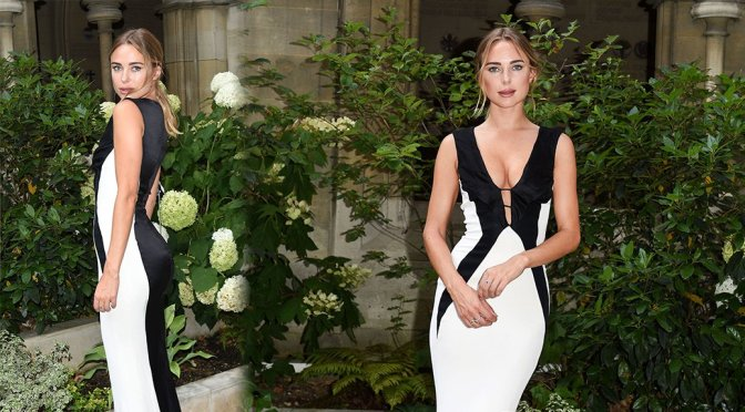 Kimberley Garner Sexy Ass In Tight Gown
