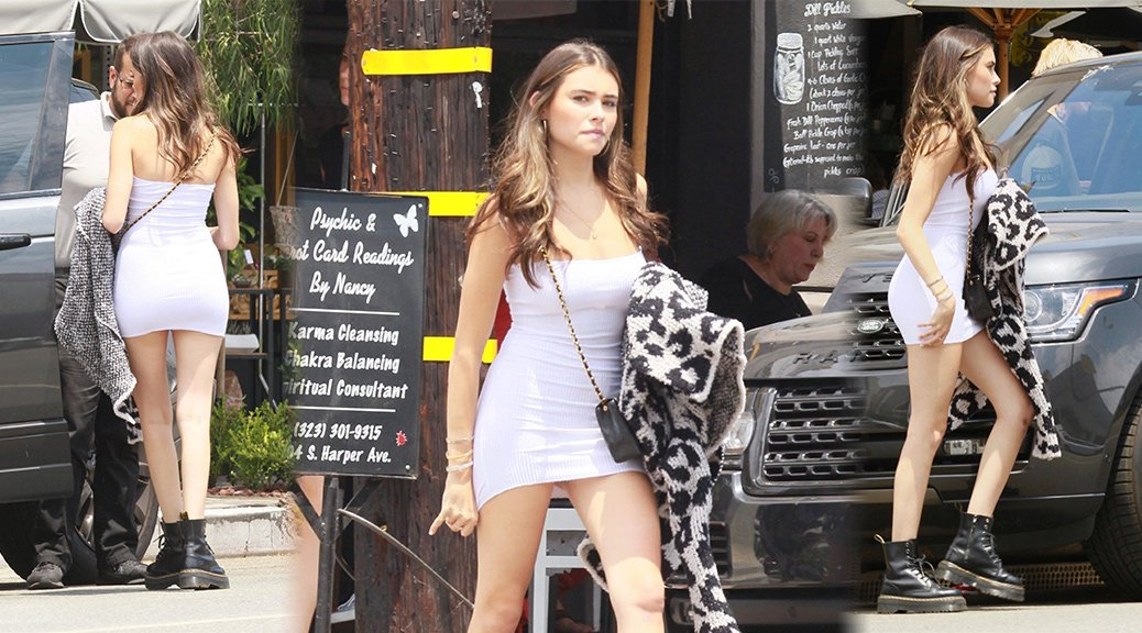 Madison Beer - Leggy Candids in West Hollywood