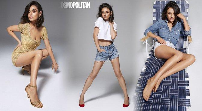 Mila Kunis – Cosmopolitan Magazine Photoshoot (August 2018)