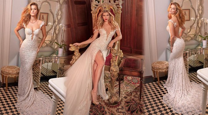 "Nina Agdal – Galia Lahav ""Queen of Hearts"" Collection"