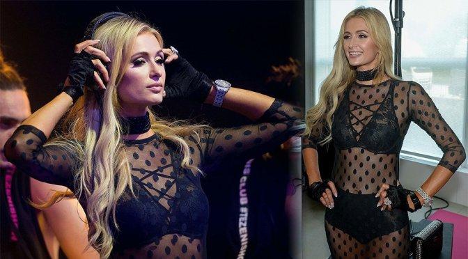 Paris Hilton – Tezenis Fashion Show in Verona
