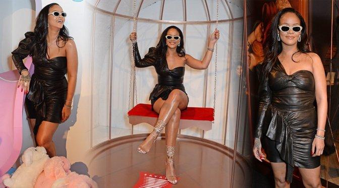 Rihanna – Savage X Fenty Pop-Up Shop Launch in London