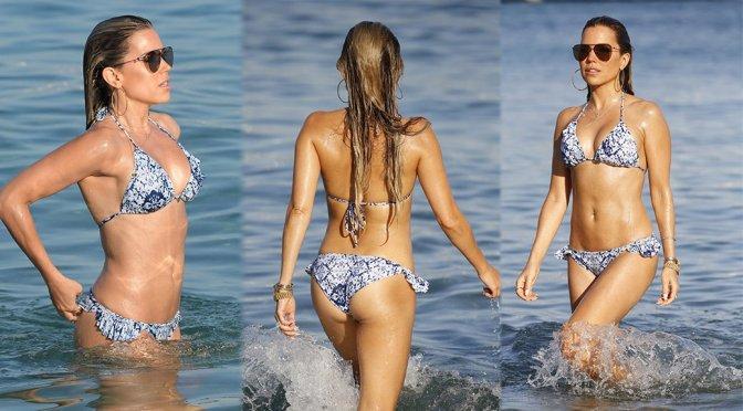 Sylvie Meis – Bikini Candids in Mykonos