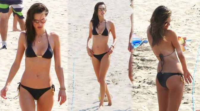 Alessandra Ambrosio – Bikini Candids in Los Angeles