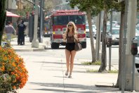 Ana Braga Braless See Through In Studio City