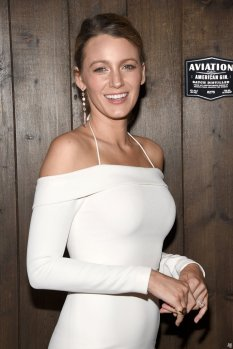 Blake Lively Sexy White Dress At Aviation Gin Orientation