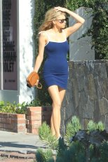 Charlotte Mckinney Sexy Little Dress In Hollywood