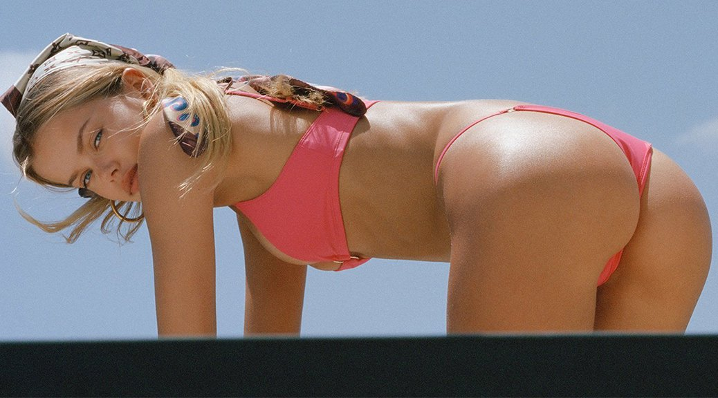 "Frida Aasen - Bamba Swimwear 2018 ""Cupids Mansion"" Photoshoot"