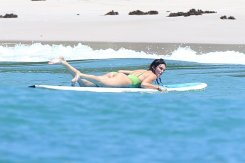 Kendall Jenner Sexy Ass In Swimsuit In Mexico